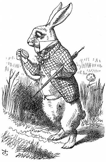 Image: The March Hare from Alice in Wonderland